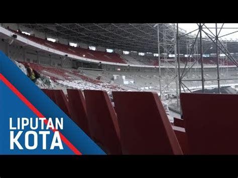 Kursi Lipat Stadion ini baru megah melihat dari dekat fasilitas baru