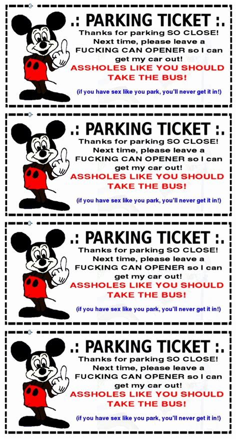 printable parking tickets free 9 printable parking ticket template eprot templatesz234
