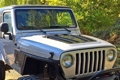 louvers for jeep poison spyder louvers for 03 06 jeep tj