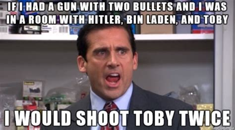 Toby Meme - toby the office funny quotes quotesgram