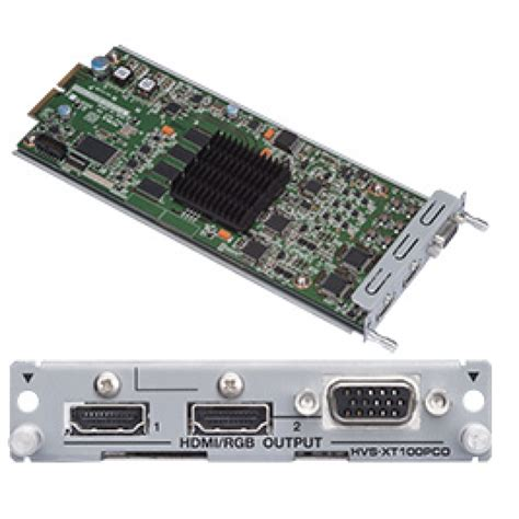 Vga Card Hdmi Port For A Hvs Xt100pco Pc Hdmi Vga Output Card