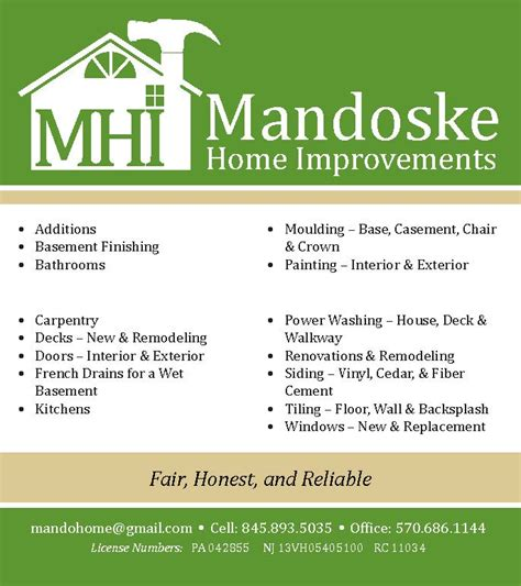 mandoske home improvement andrea wentzell