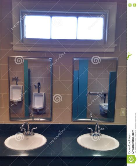 home interior bathroom mirror and sink stock photo image sinks and mirrors in public restrooms stock photo