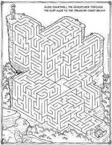 free maze printable cartoon adventurer maze activity