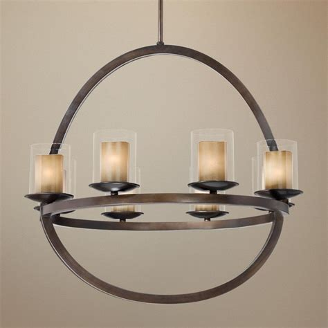 Great Room Chandelier Glass 31 1 2 Quot Wide Rubbed Bronze Chandelier 500 Great Room Lighting Pinterest