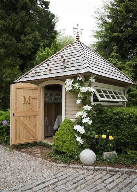 garden shed inspiration  wood grain cottage