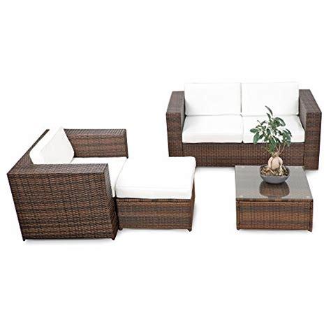 Rattan Lounge Balkon by Braun Rattan Sets Und Weitere Gartenm 246 Bel G 252 Nstig