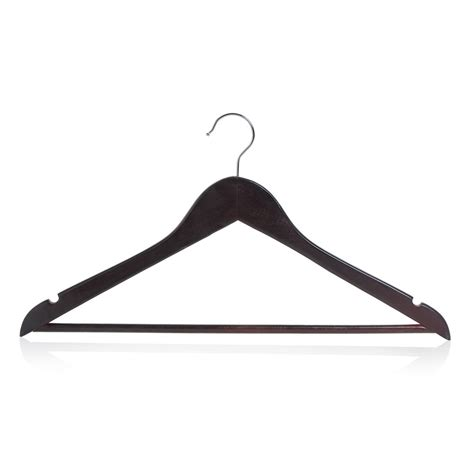 wilko coat hangers wooden natural x 5
