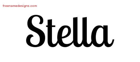 stella archives free name designs