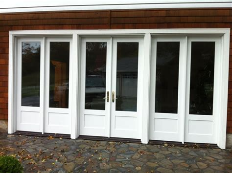 Marvin Garage Doors Marvin Inswing Door With Fixed Sidelites Ot Glass