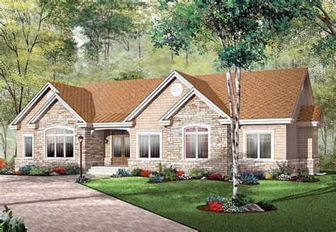 ranch bungalow floor plans bungalow ranch house plan 65493