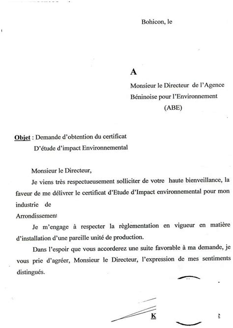 Exemple De Lettre De Demande De Certificat De Nationalité Eregulations B 233 Nin
