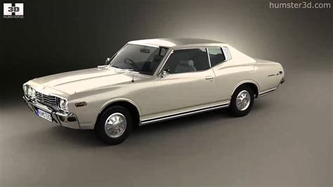 datsun 260c for sale datsun 260c coupe 1976 by 3d model store humster3d
