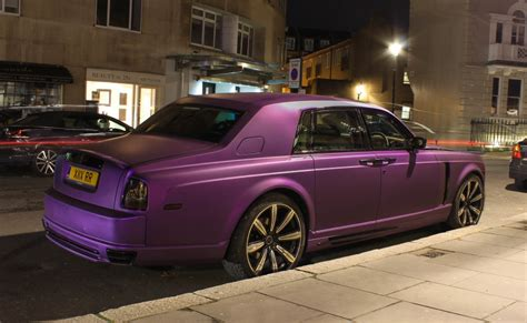roll royce purple mansory rolls royce phantom conquistador