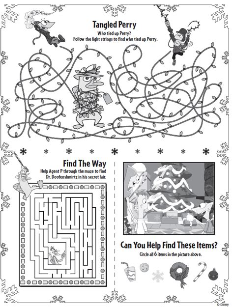 christmas tree activity book printable 6 best images of free printable christmas activity pages