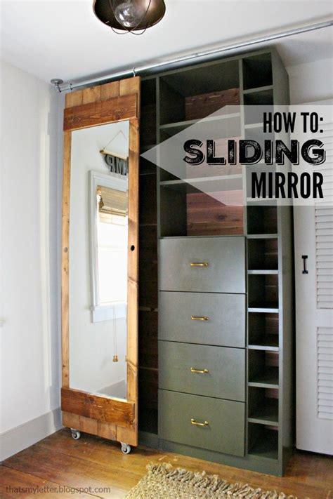 build  sliding mirror door