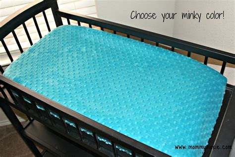 Custom Solid Minky Changing Table Pad Cover For Your Nursery Changing Table Pad Cover