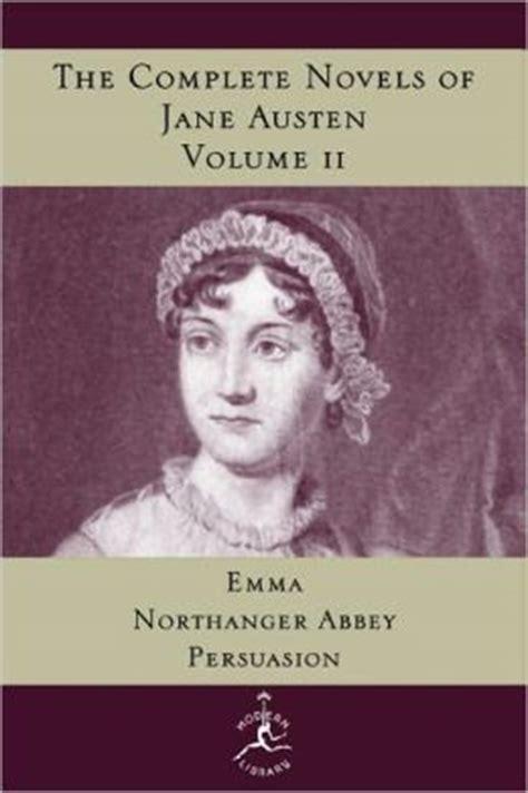 jane austen the complete 0141395206 complete novels of jane austen volume 2 modern library series by jane austen 9780679600251
