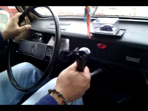 renault 4 gear shift 1982 renault stick shift on dashboard youtube