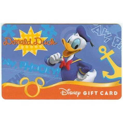 Gift Series Nanoblock Donald Duck your wdw store disney collectible gift card fab six donald duck