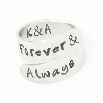 forever and always ring promise from indiecreativ on
