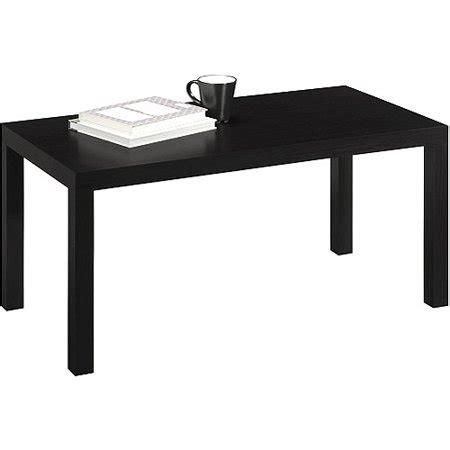 walmart coffee table parsons coffee table black walmart com