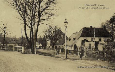 Alte Len by Lengenfelder Stra 223 E Ansichtskarten Aus Rodewisch