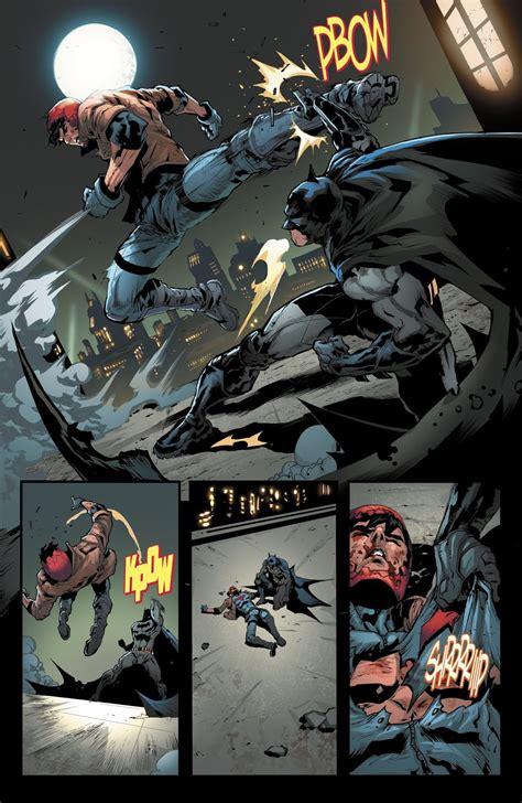 arsenal saves red hood  batman comicnewbies