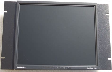Rack Mount Computer Monitor by 7u Or 12 25 Vertical Height Space Efficient Rackmount For