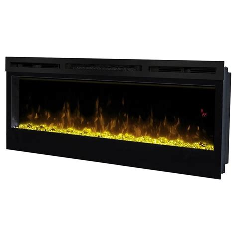 dimplex prism 50 quot wall mount linear electric fireplace
