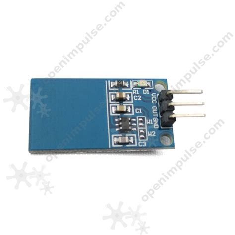 Sensor Sentuh Kapasitif Ttp223 Touch Sensor ttp223 capacitive digital touch sensor open impulseopen impulse