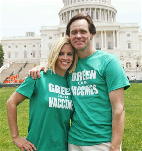 Mccarthy Calls Jim Carrey Autism Whisperer by Dlisted Jim Carrey Abandoned Mccarthy S So