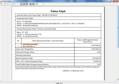 export ppn 1 atas jasa pengiriman barang ekspedisi ke e faktur