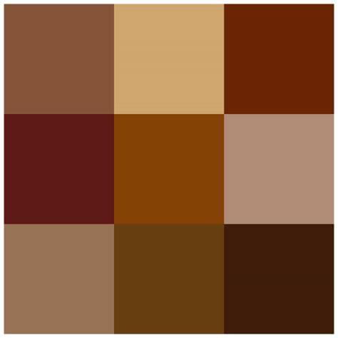 sobre colores nombre c 243 digo y descripci 243 n de los colores marrones