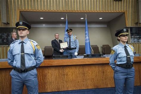 united nations photo graduation ceremony for new un