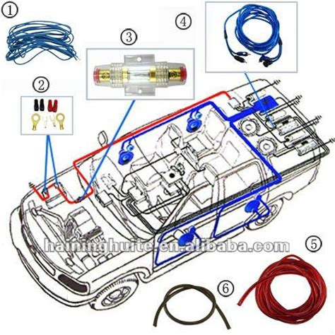 sub wiring kit car audio subwoofer sub lifier wiring kit sound