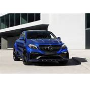 Mercedes GLE Coupe Gets A Blue Gem Colored Body Kit By