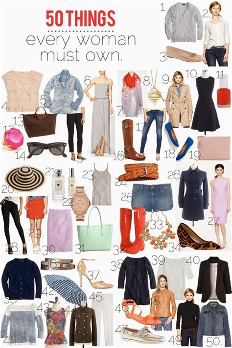 put together wardrobe for women over 50 50 things every woman should own mom fabulous
