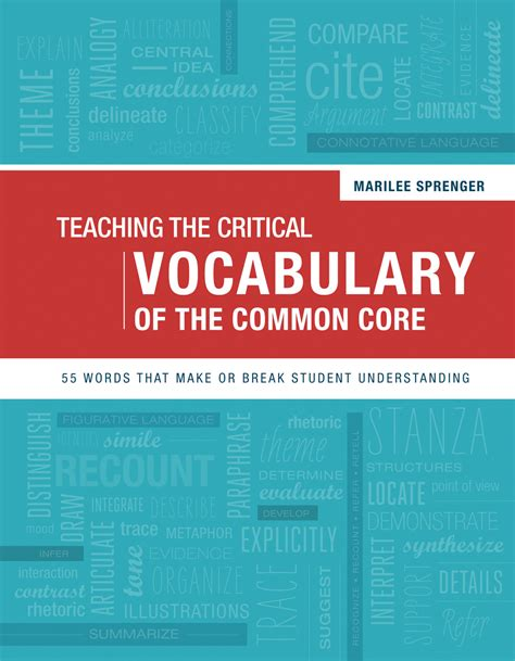 picture books to teach vocabulary teaching the critical vocabulary of the common 55