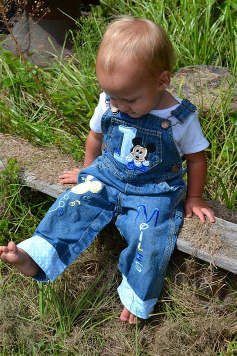 Overal Mickey Baby disney baby mickey mouse overalls boys blue overalls mickey