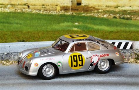 Aufkleber Porsche 356 by Panamericana 1950 1954 Endurance Racing 1 43