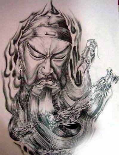 guan gong tattoo bad luck 12 best guan yu tatttoo images on pinterest guan yu