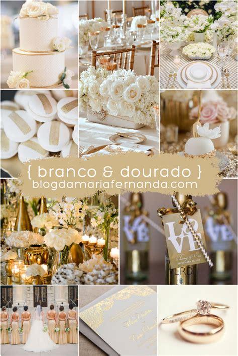 Fern Decor by Decora 231 227 O De Casamento Paleta De Cores Branco E Dourado