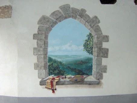 disegni sui muri interni di casa trompe l oeil solart di borello emanuele decorazioni