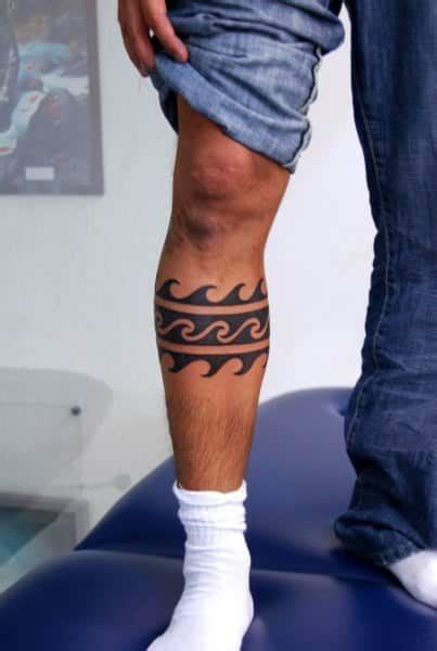 wave tattoos for men leg tattoos for ideas and designs for guys