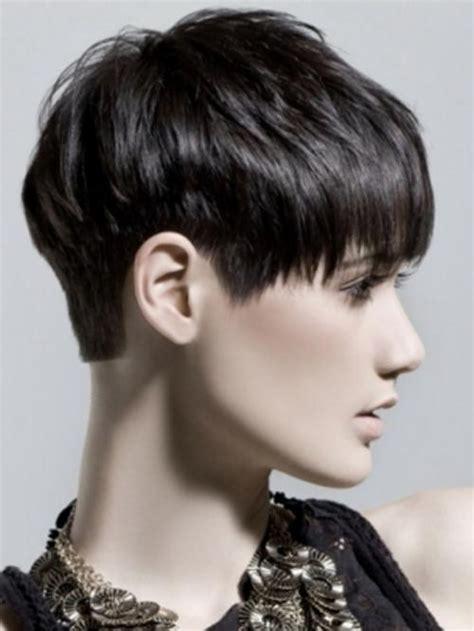 cabello corto mujer 2015 cortes de cabello corto estilo pixie con flequillo