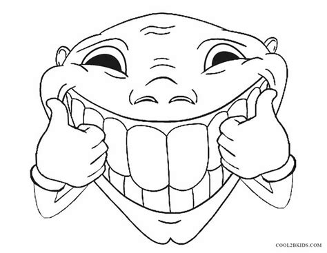 funny faces coloring pages coloring pages