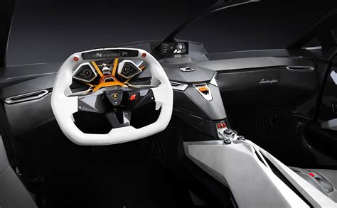 future cars inside lamborghini concept interior
