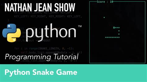 python tutorial intermediate python tutorial snake game with curses youtube