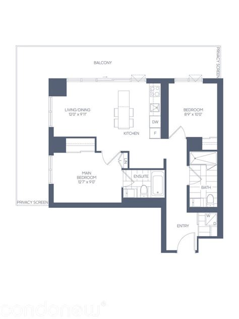 lighthouse floor plans daniels waterfront condos the lighthouse tower by daniels